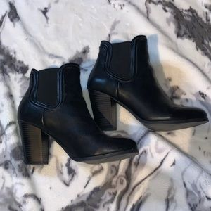 Call it spring black booties